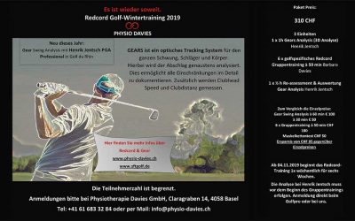 Redcord Golf Wintertraining | Kurs
